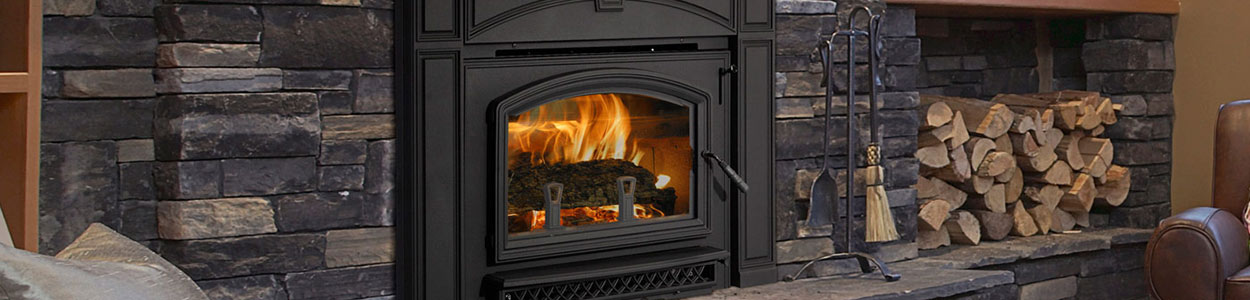 wood burning stove existing ductwork